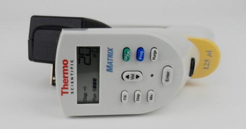 Used Thermo Scientific Matrix 125 ul Electronic Pipette