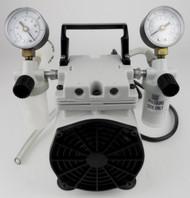 Used Welch Oil-Free Vacuum Pump Model # 2522B-01