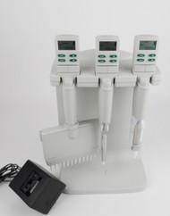 Rainin EDP-3 Plus LTS Electronic Pipette (Set of 3 12 Multichannel 20 µL, 200µL, 5000 µL)