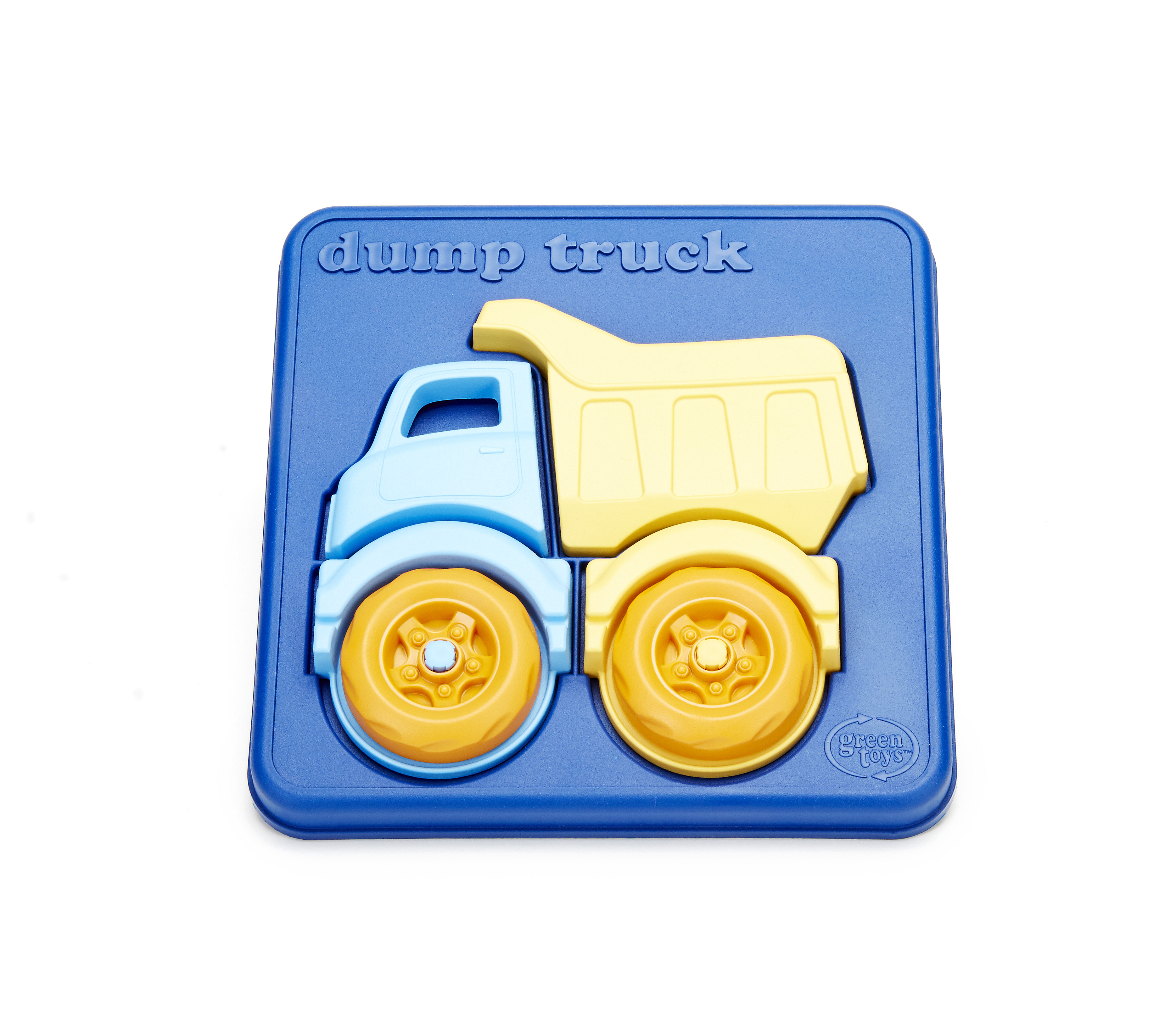 Dump Truck Puzzle by Green Toys