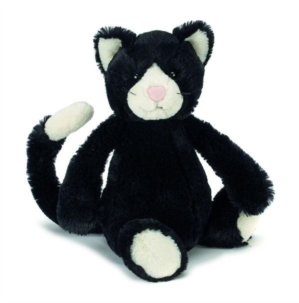 Jellycat Bashful Black White Cat Buy At Cow And Lizard