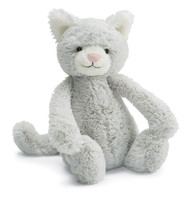 Jellycat Bashful Grey Kitty stuffed anmal