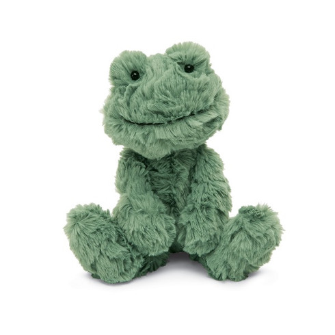 Squiggle Frog stuffed animal by Jellycat
