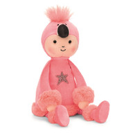 Jellycat Playful Perky Flamingo Flapper