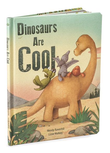 Jellycat Dinosaurs Are Cool Book