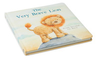 The Very Brave Lion board book by Jellycat