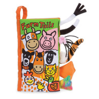 Farm Tails Soft Activity Book by Jellycat