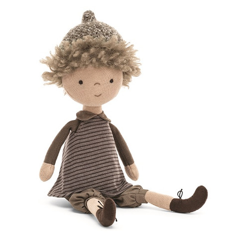Chestnut Autumn Doll by Jellycat