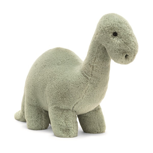 Fossily Brontosaurus by Jellycat