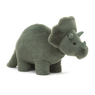 Fossily Triceratops by Jellycat