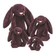 Bashful Plum Bunny by Jellycat