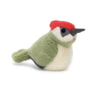 Birdling Woodpecker by Jellycat