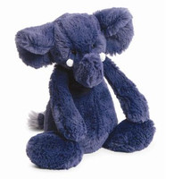 Jellycat Bashful Blue Elephant stuffed animal