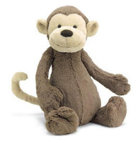 Jellycat Bashful Monkey stuffed animal