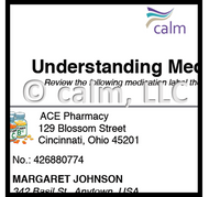 Understanding medication label 2