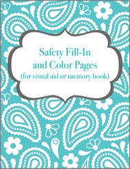 Safety Fill-In/Color Pages