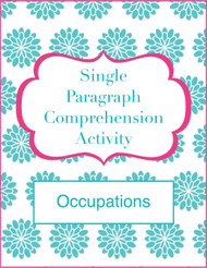 Single Paragraph Comprehension (Occupation-Themed)