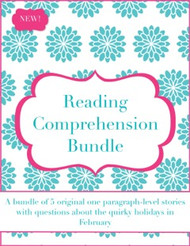Reading Comprehension Bundle