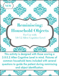 Reminiscing: Household Objects