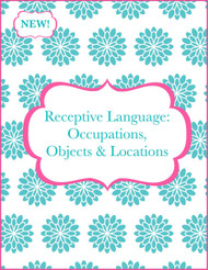 Receptive Language: Occupations, Objects, Locations