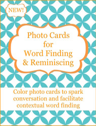 Photo Cards For Reminiscing & Word Finding
