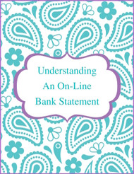 Online Bank Statement