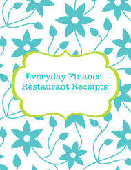 Restaurant receipts