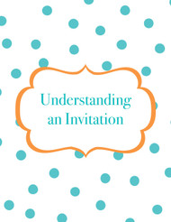 Understanding an Invitation (Paragraph Level Comprehension, Letter Format)