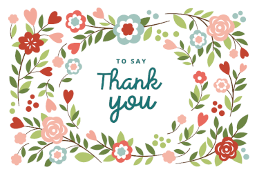 Greetings Island Has A Huge Range Of Thank You Cards That Can Customise And Then Print Out At Home For Free