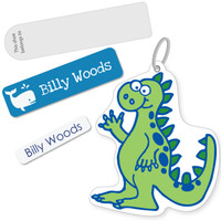 A value pack for kids starting daycare or preschool and needing to label their clothes, lunchboxes and bags.