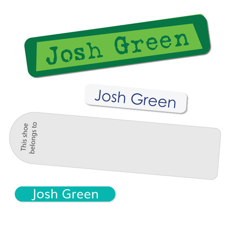 A value pack for teenagers and highschoolers who need to label their school things but don't want icons...