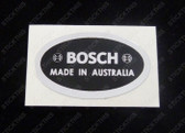 Bosch Alternator Decal