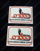 Cobra Alarm 1/4 Window Decals, HDT VH VK VL VN