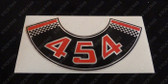 454 Chev Air Cleaner Decal