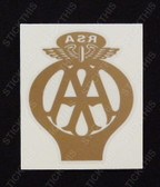 RSA Automobile Association Decal