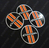 Aunger Hustler Wheel Cap Decals - Round