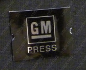 GM Seatbelt Button Insert x 1