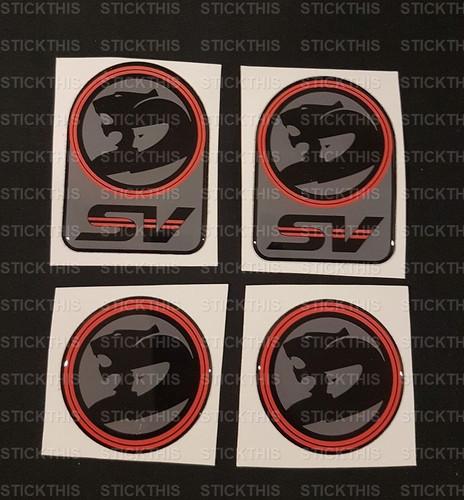 SV Walkinshaw Bonnet, Boot and Guard Badge Kit, VL