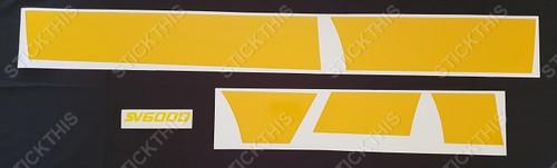 VZ SV 6000 Complete Stripe and Logo Kit