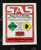 Bazooka NOS8 - SAS BASS in a Bottle Decal