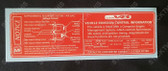 Vehicle Emission Control & SRS Decal MF - VT VU V2 VX WH V8