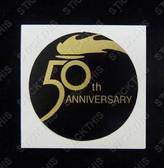 50th Anniversary HX Badge Decal
