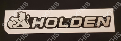 VG Ute Tailgate Decal