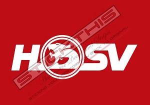 VE VF HSV Brake Caliper Decals x2 - White