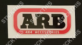 ARB Domed Decal 50mm x 23mm