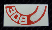 308 Air Cleaner Decal - HQ