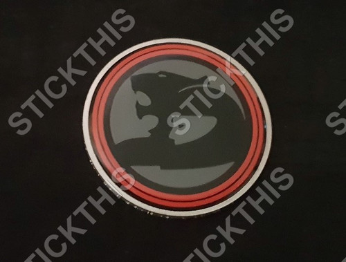 VL/VN SV Walkinshaw Group A SS Badge 57mm Diameter Aluminium With Disc - Steering Wheel