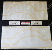 TC Gemini Sandpiper Stripe and Decal Kit