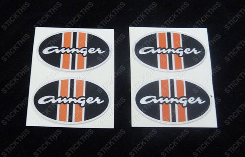Aunger Hustler Wheel Cap Decals