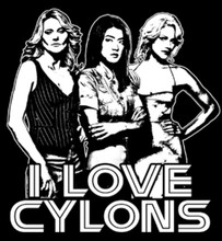 I Love Cylons T-Shirt